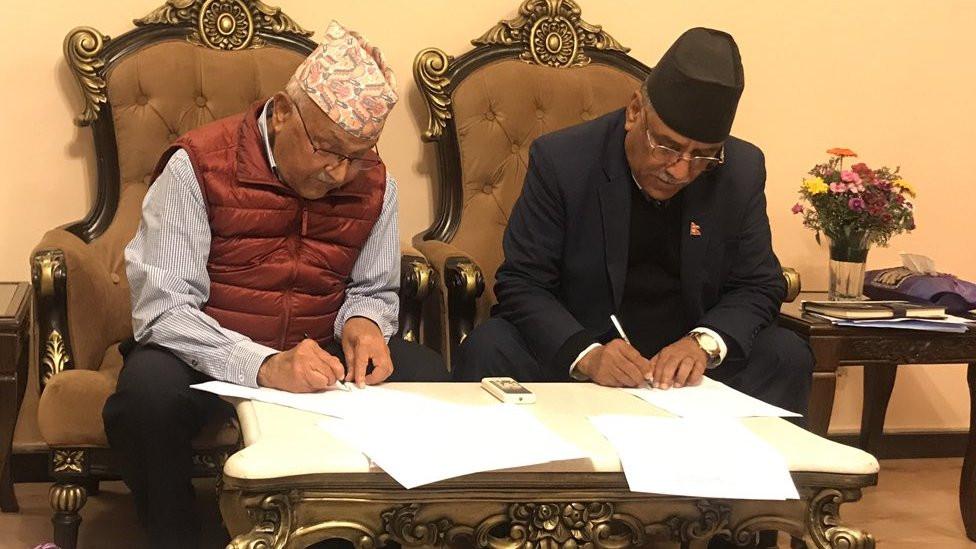 एमाले-माओवादी : प्रचण्ड-नेपाल समुहको बैठकले गर्याे छुट्टिने निर्णय !