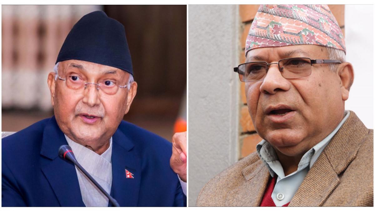 एमालेमा अध्यक्ष ओलीको अर्को बोल्ड निर्णय, माधव नेपाल हेरेको हेर्यै