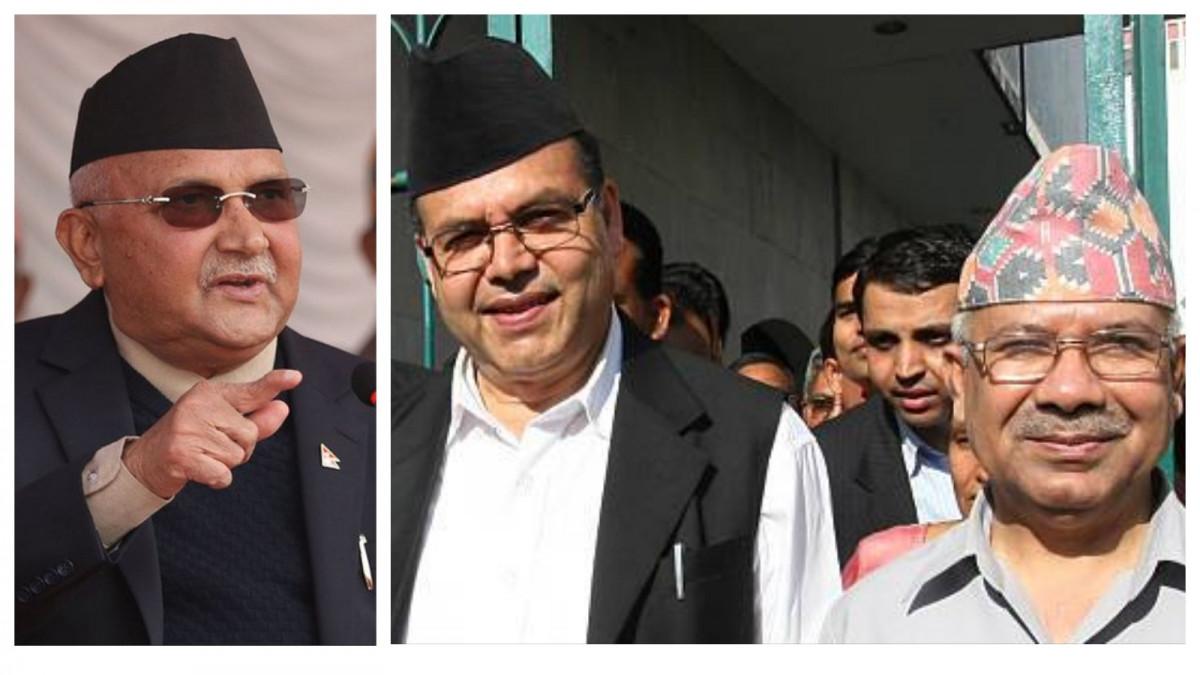 प्रधानमन्त्री ओलीले वार्ताका लागि बोलाए माधव नेपाललाई, राजीनामाबाट ब्याक भयो नेपाल समूह
