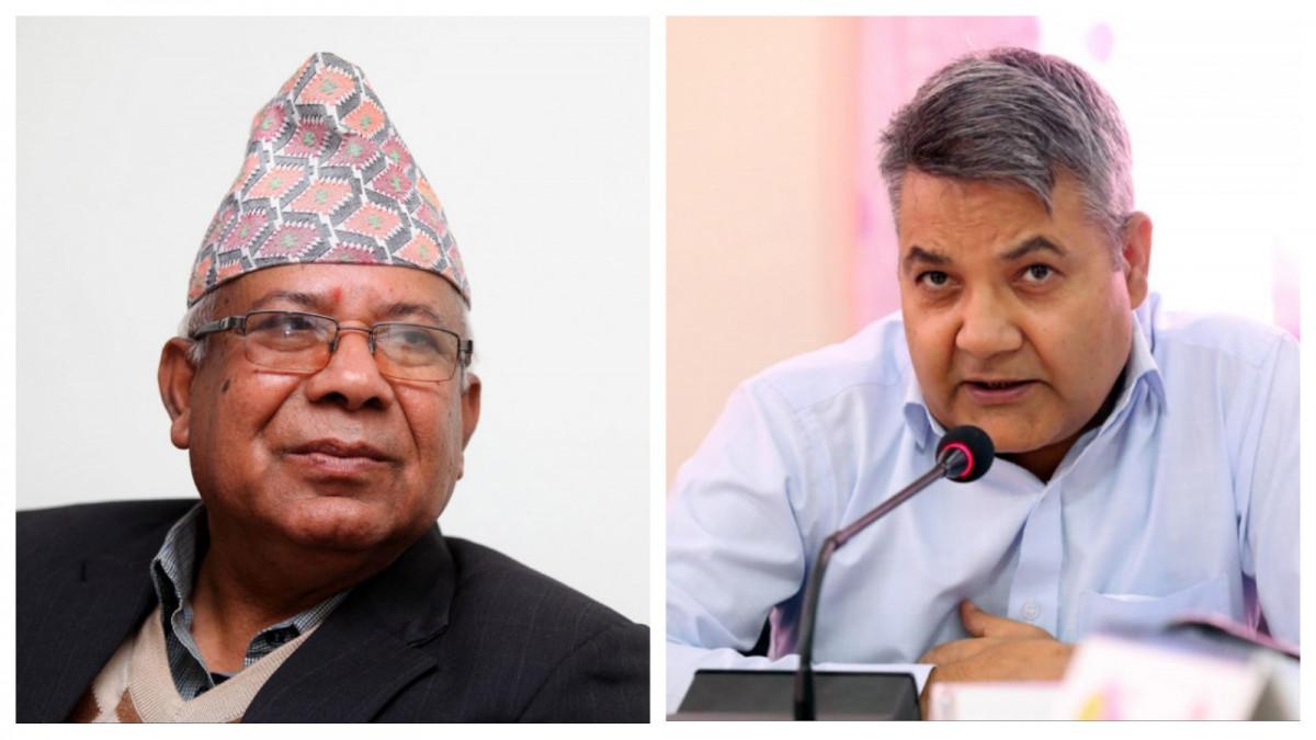 प्रचण्डको 'भरिया' बनेर अदालतको शरणमा पुगेका माधव नेपाललाई गोकुल बाँस्कोटाको दनक