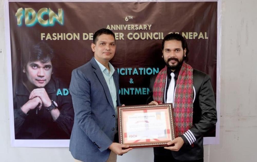 The Fashion Designers Council of Nepal has appointed choreographer Aswini Kant Jha as its advisor.