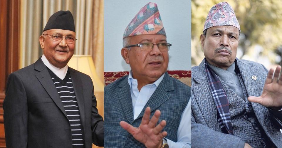 एमालेमा वार कि पार : ओलीपक्षमा भीम रावललाई फलिफाप, संकटमा माधव नेपाल !