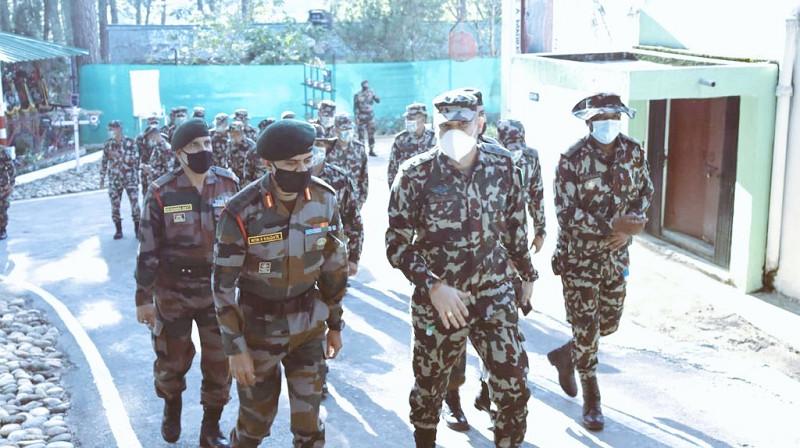 पिथौरागढ पुग्यो नेपाली सेनाको टोली, भोलिदेखि भारतीय सेनासँग संयुक्त सैन्य अभ्यास हुने