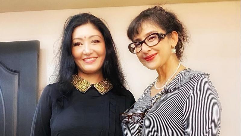 अभिनेत्री मनीषा कोइराला र पूर्वयुवराज्ञी हिमानी शाहबीच भेटघाट